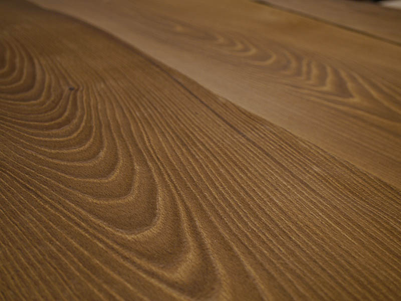 Crown Cut Fumé  Beech