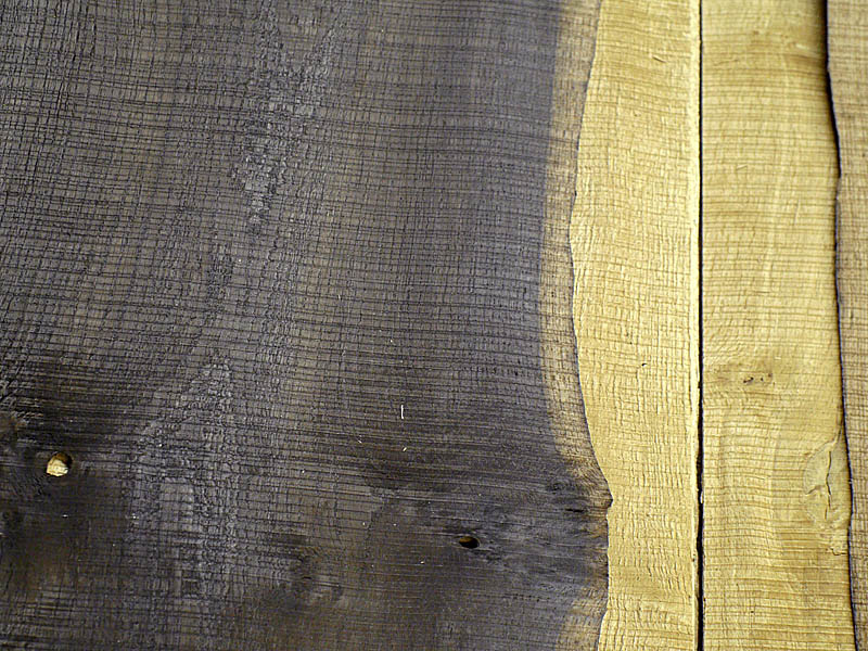 Crown Cut Scratched Fumé Rustic Oak