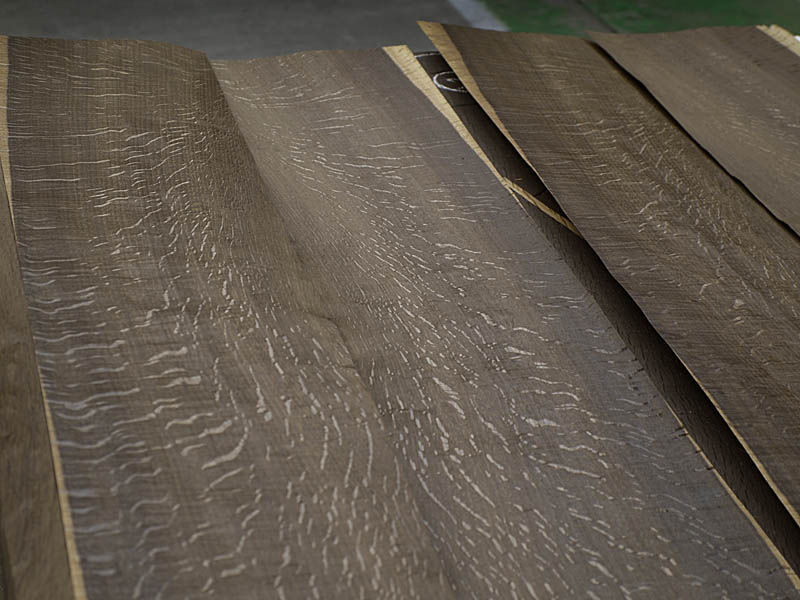 Red Oak Rift Cut Fum 233 Natural Wood Veneers