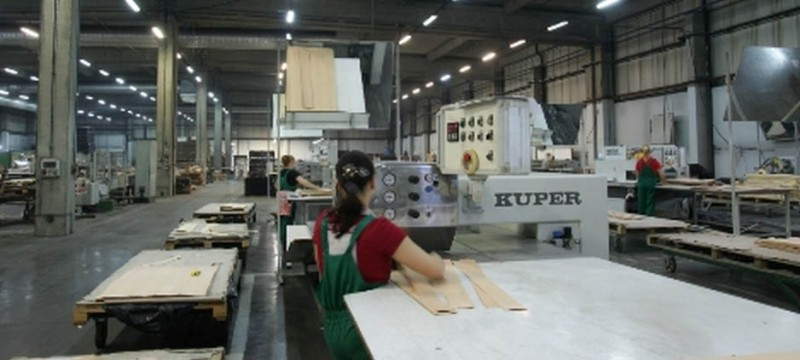 Channel Veneers Production Line