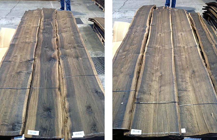 Smoke Wood Furniture ~ Knotty smoked oak natural wood veneers
