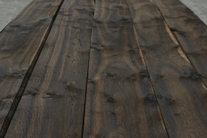 smoked rustic oak close up